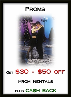 Prom Specials - Tuxedos and Formal Wear - Lowell, MA