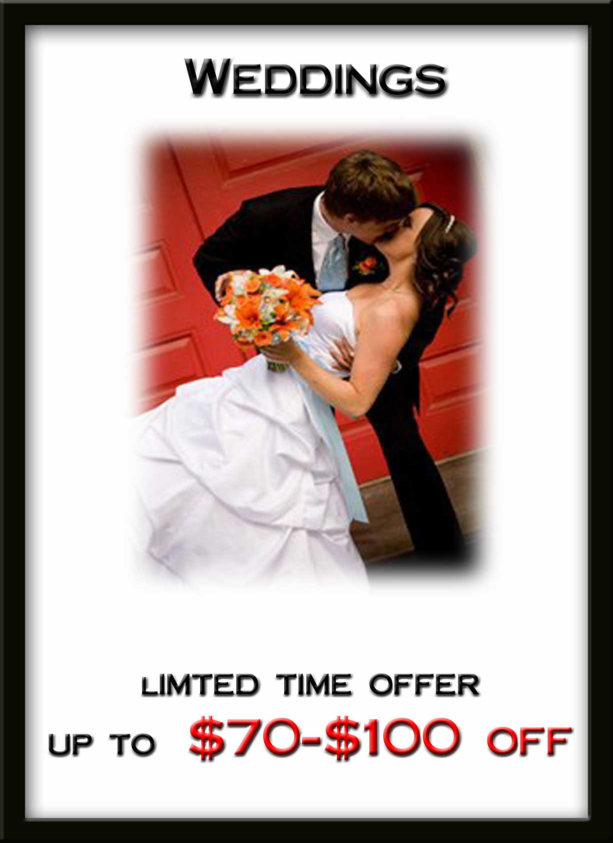Wedding Specials - Tuxedos and Formal Wear - Lowell, MA
